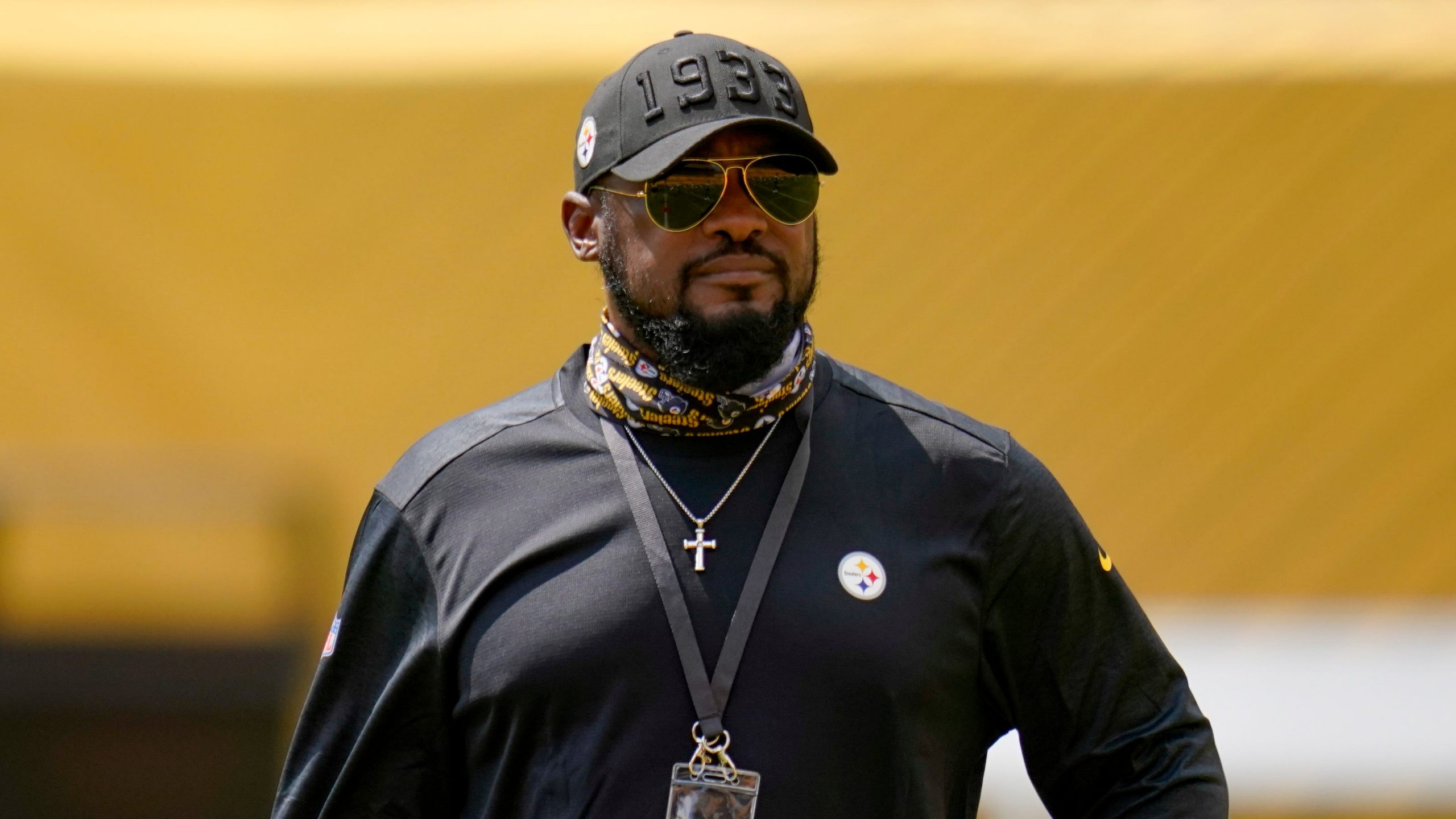 Steelers Coach Mike Tomlin