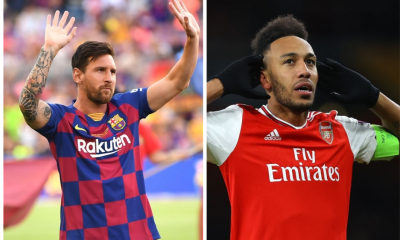 Lionel Messi or Pierre Emerick Aubameyang