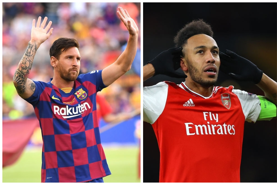 Lionel Messi or Pierre Emerick Aubameyang
