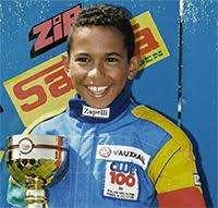 Boy Lewis Hamilton