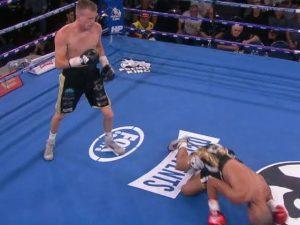 Liam Wilson defeats Jesus Cuadro