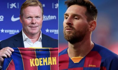 The words Ronald Koeman told Lionel Messi to make him leave Barcelona