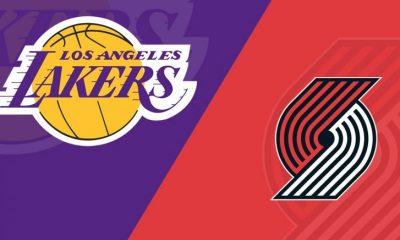 Lakers vs Trail Blazers