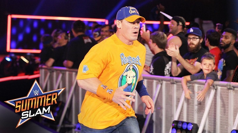 John Cena in SummerSlam