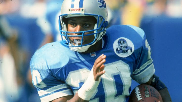 Barry Sanders best running back of all time