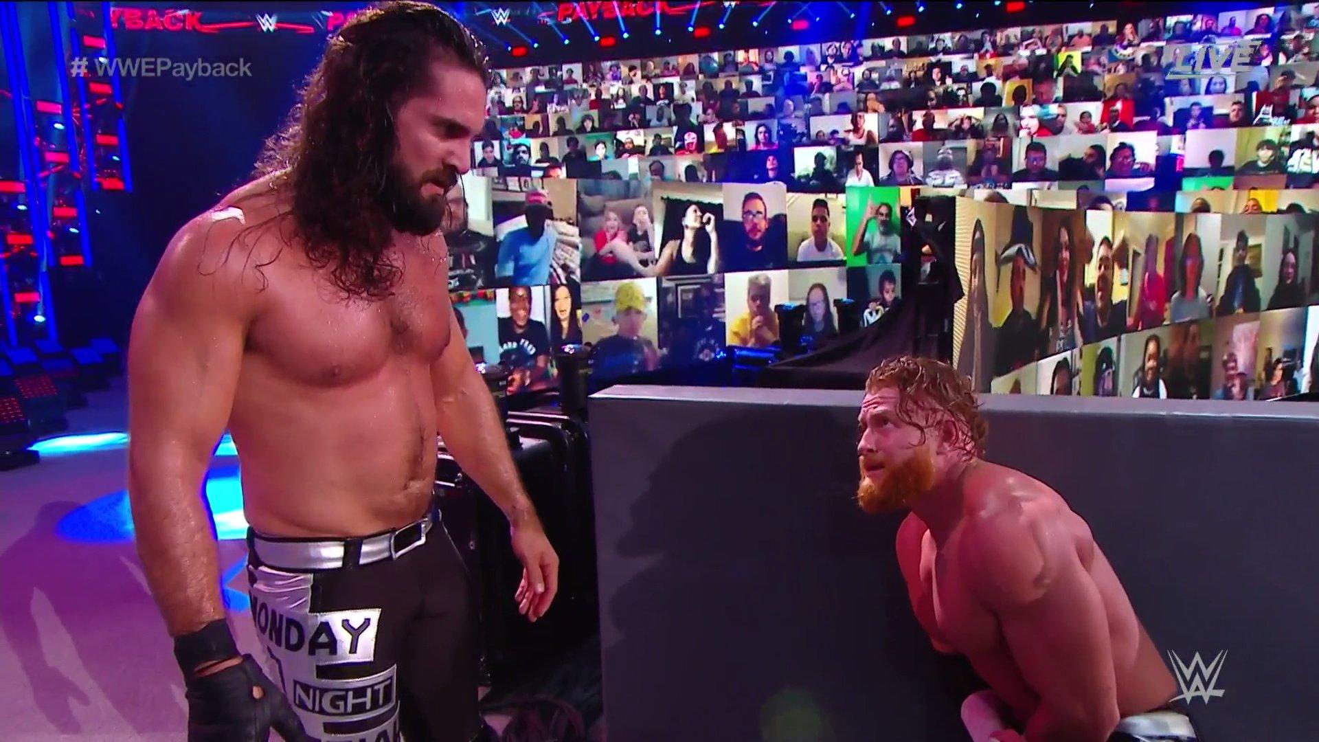 WWE Payback 2020: Seth Rollins and Buddy Murphy