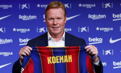 Ronald Koeman new Barcelona manager
