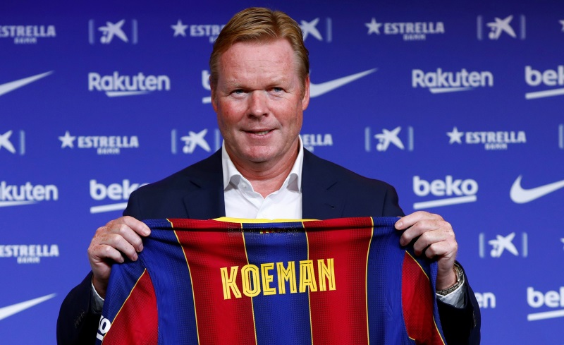 Ronald Koeman new Barcelona manager