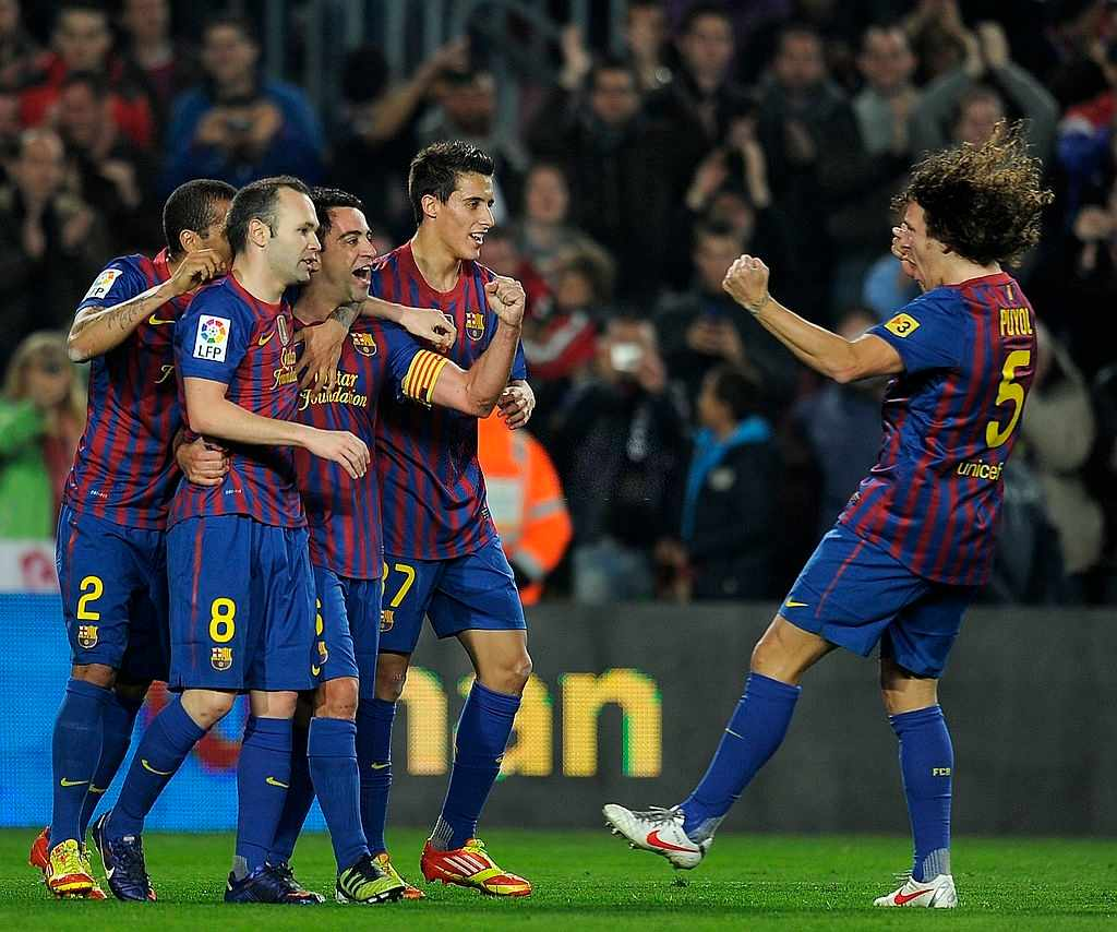 Carlos Puyol, Dani Alves, Xavi, Iniesta left Barcelona