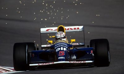 Vettel buys himself FW14B from the Williams