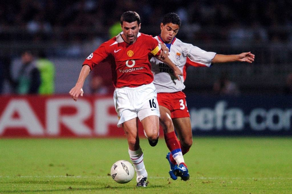Roy Keane Manchester United player