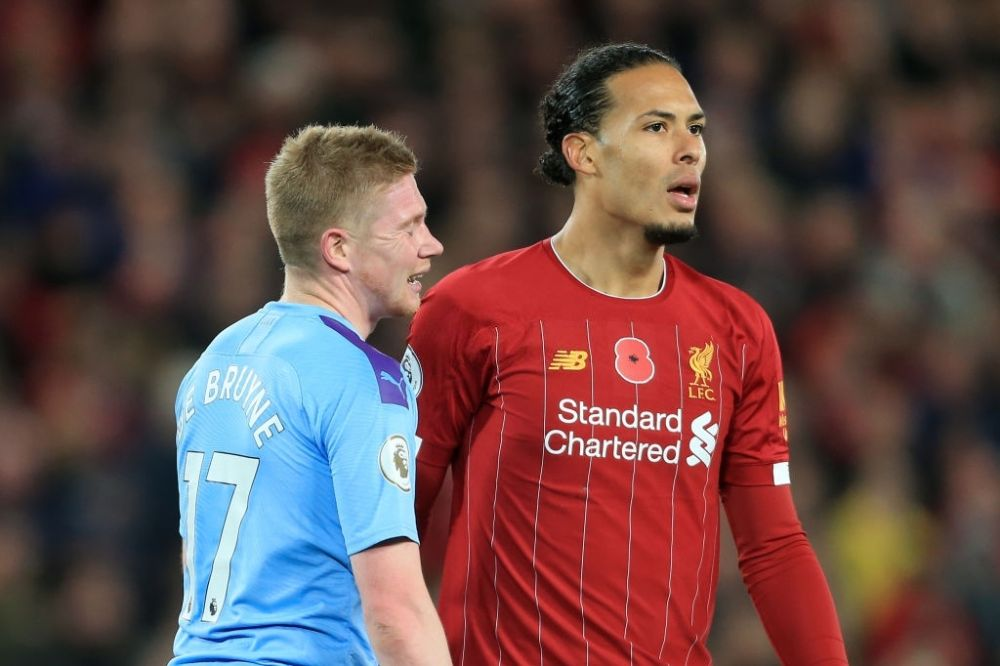 Kevin De Bruyne and Virgil van Dijk nominated for PFA player of the year award