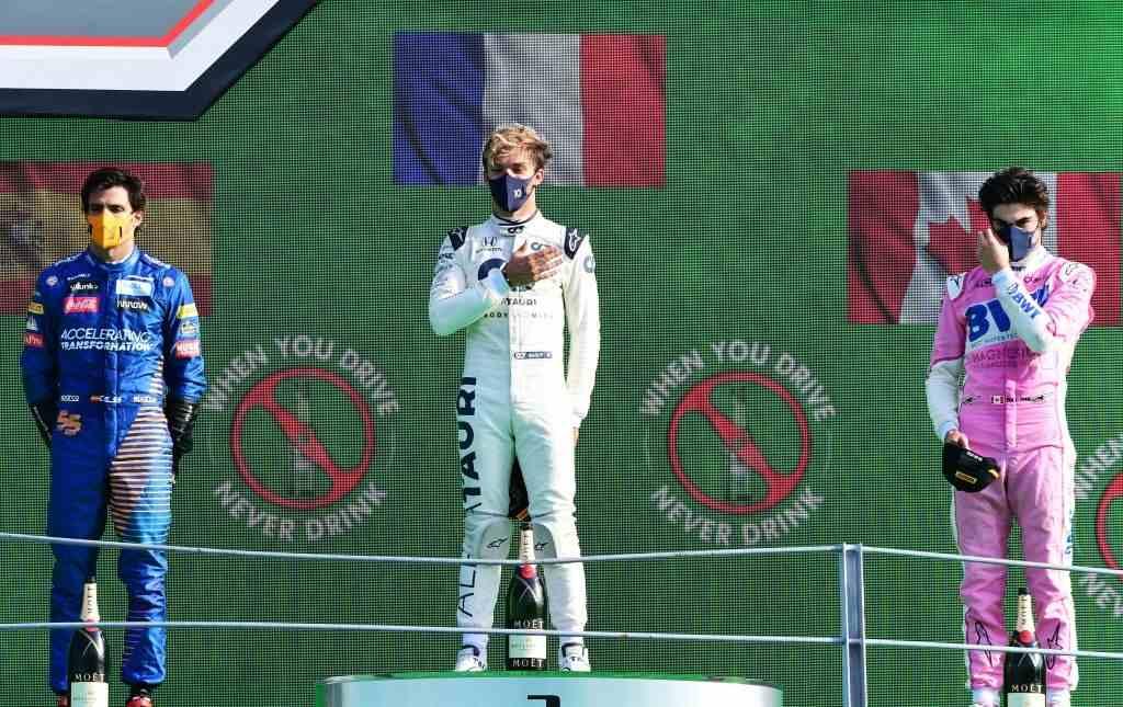 Pierre Gasly wins at Italian Grand Prix
