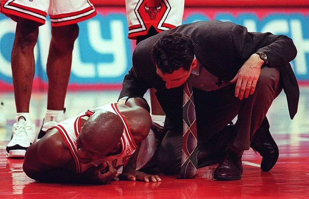 Michael Jordan injuries