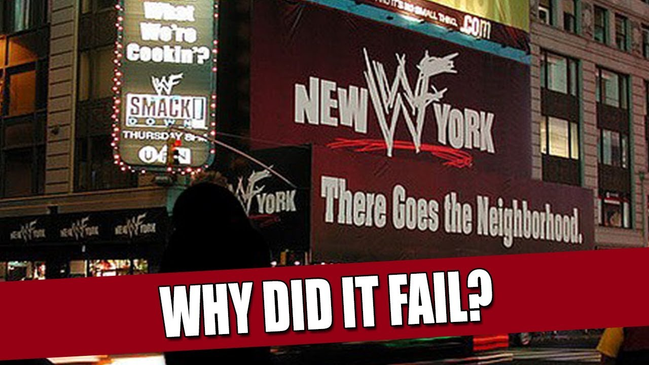 wwe new york a failded project