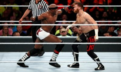 Sami Zayn vs Bobby Lashley