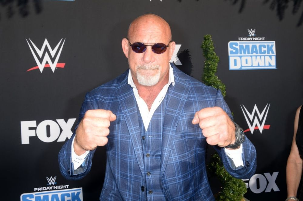 Wrestler Bill Goldberg