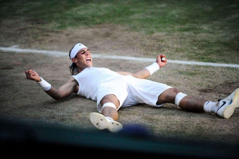 Wimbledon Final 2008 Nadal wins