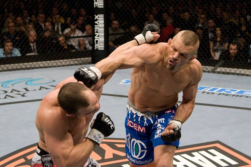 Greatest UFC fight Chuck Liddell vs. Wanderlei Silva