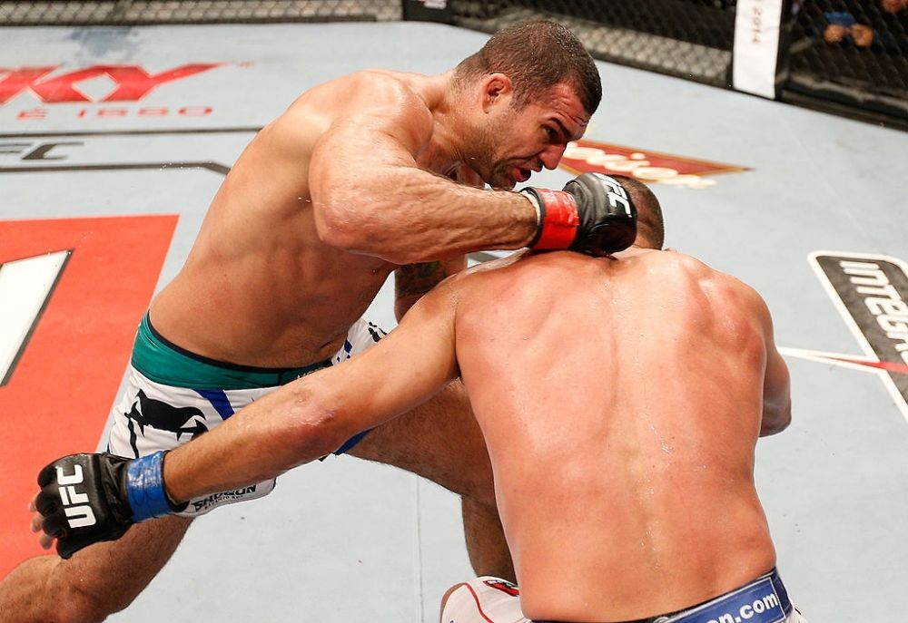 Deadliest UFC fight Mauricio Rua vs Dan Henderson