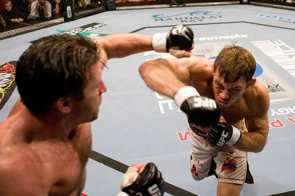 Most entertaining UFC fight Forrest Griffin vs Stephan Bonnar
