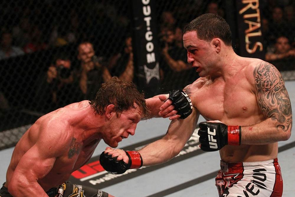 Greatest fight of UFC Frankie Edgar vs Gray Maynard