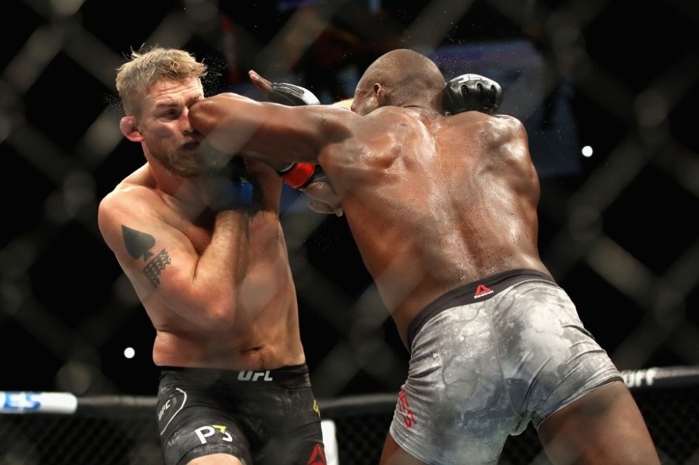 Jon Jones vs Alexander Gustafsson fight