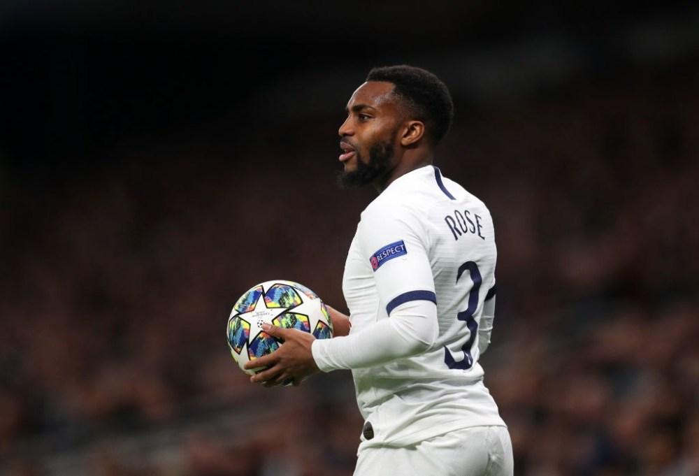 Danny Rose debut for Tottenham