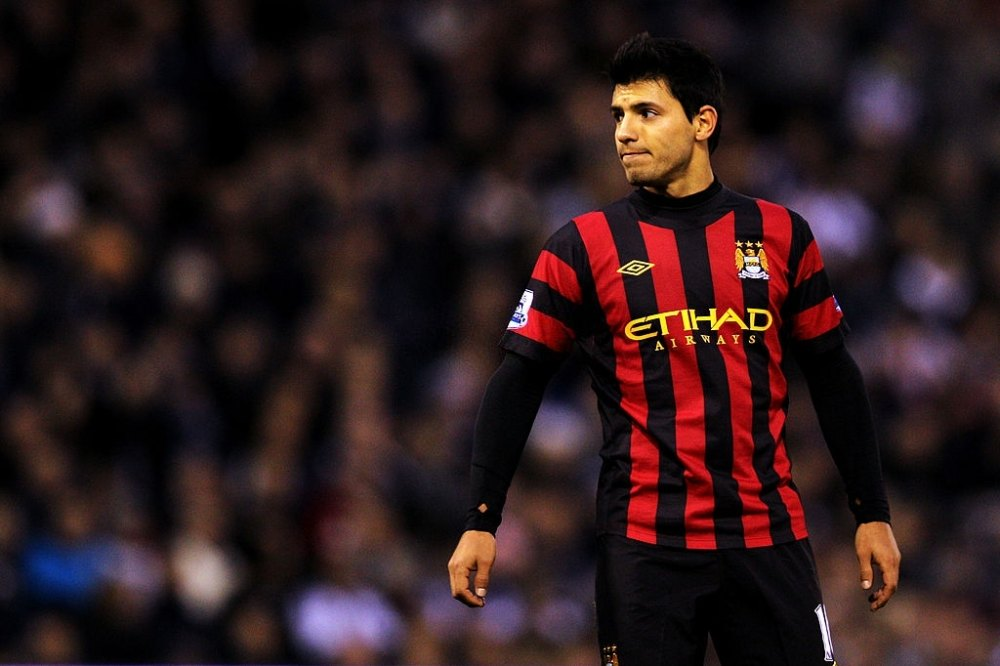 Sergio Aguero debuted in 2011 for Man City
