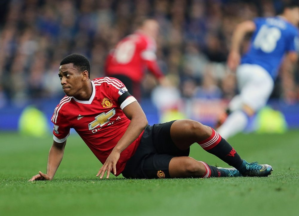 Anthony martial debuted in 2015 against Liverpool