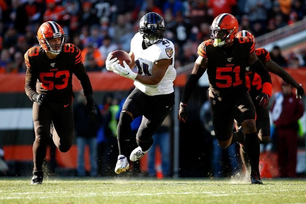 Mark Ingram II of Baltimore Ravens