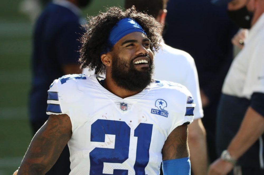 Running back Ezekiel Elliott from Dallas Cowboys