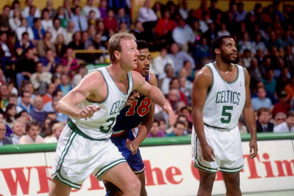 Larry Bird most clutch players