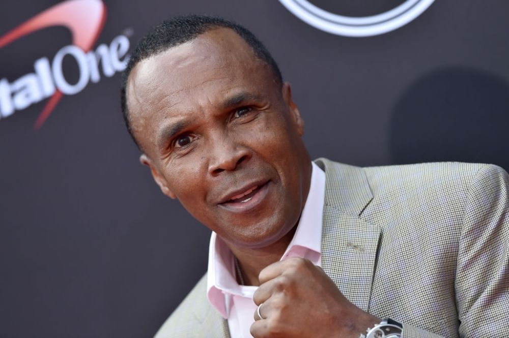 Sugar Ray Leonard boxer of 80s