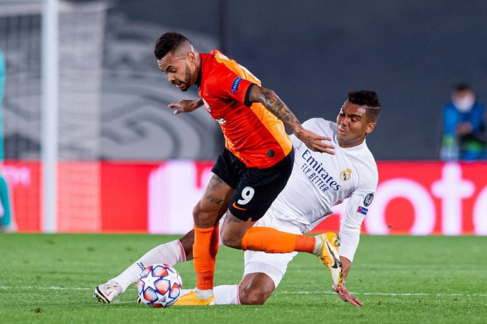 Real Madrid lost to Shakhtar Donetsk