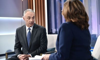 Robert Manfred said MLB is at a $8.3 billion Debt