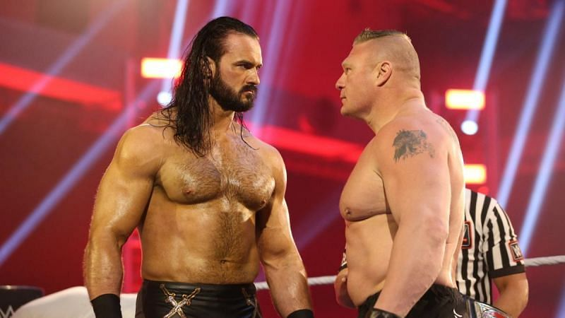 WWE Champion Drew McIntyre sends a message to Brock Lesnar - Sportszion