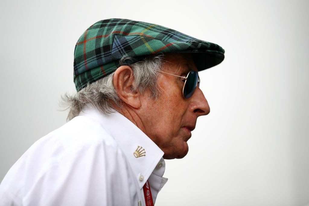 Sir Jackie Stewart English f1 driver