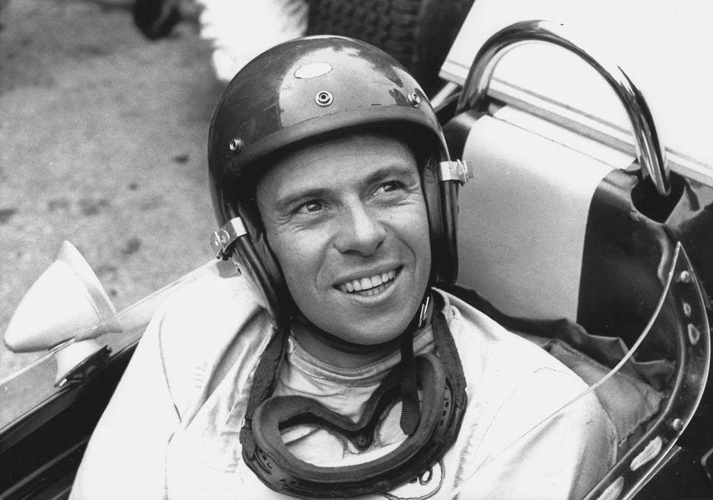 German F1 driver Jim Clark