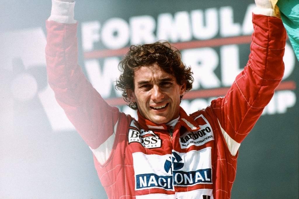 Ayrton Senna f1 driver