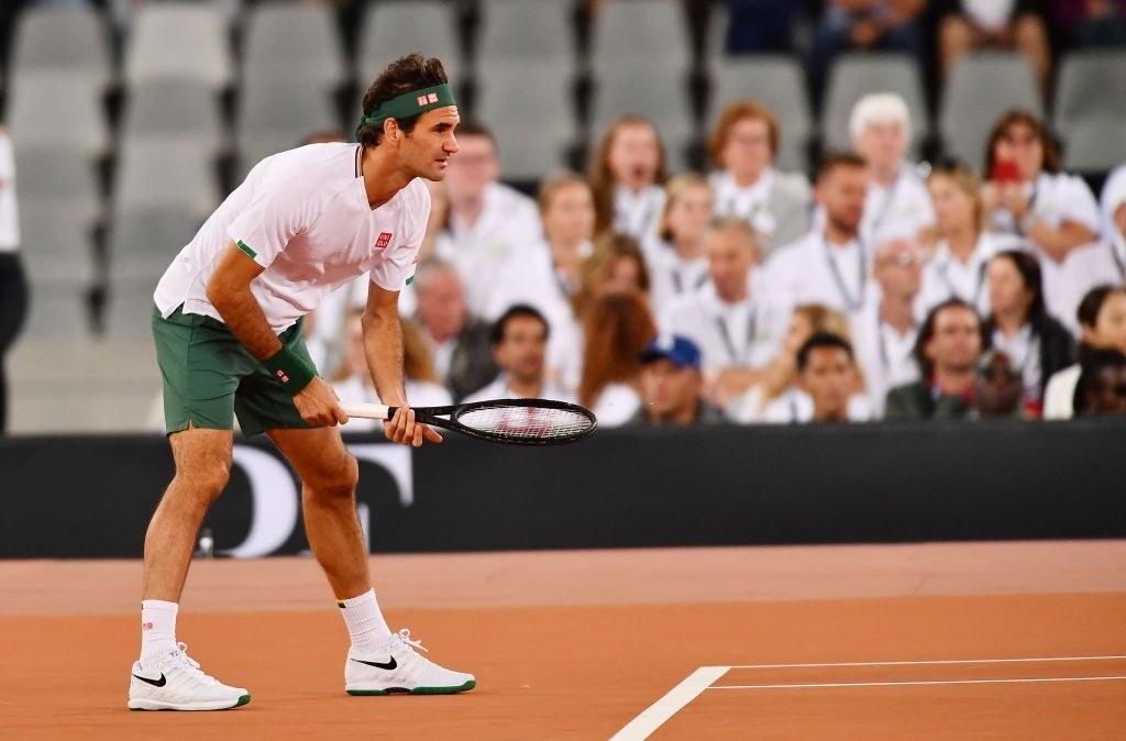 Roger Federer world's no. 1 tennis star