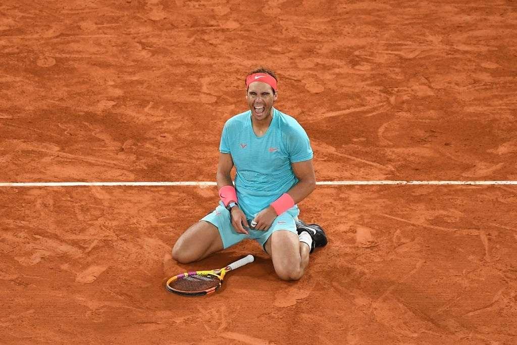 Rafael Nadal the King of Clay