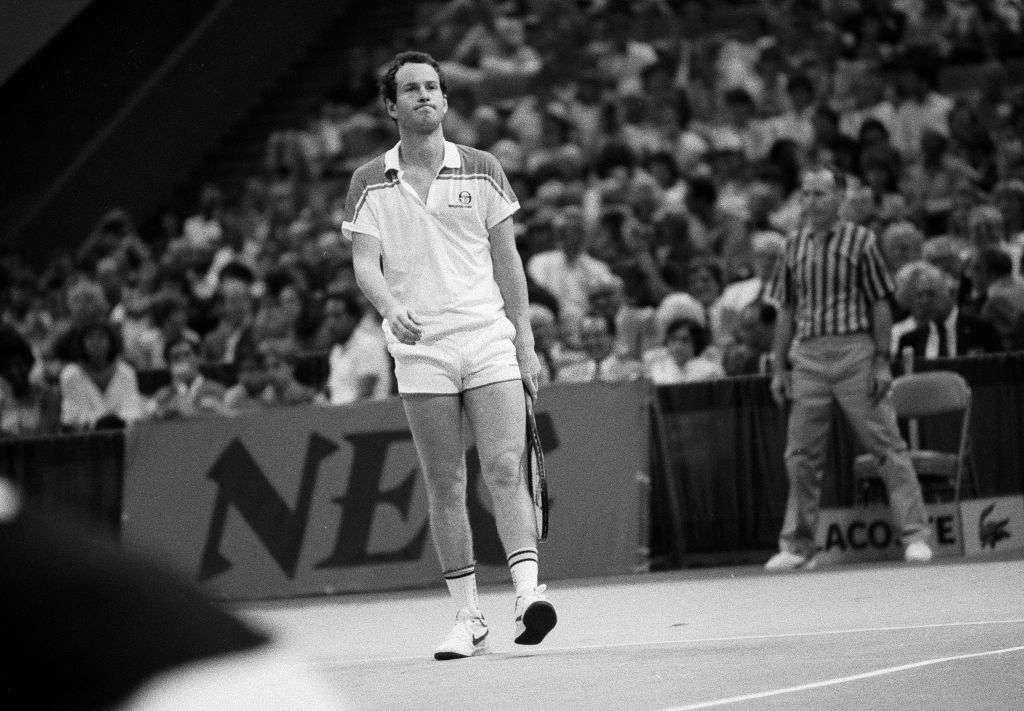 John McEnroe most popular tennis star