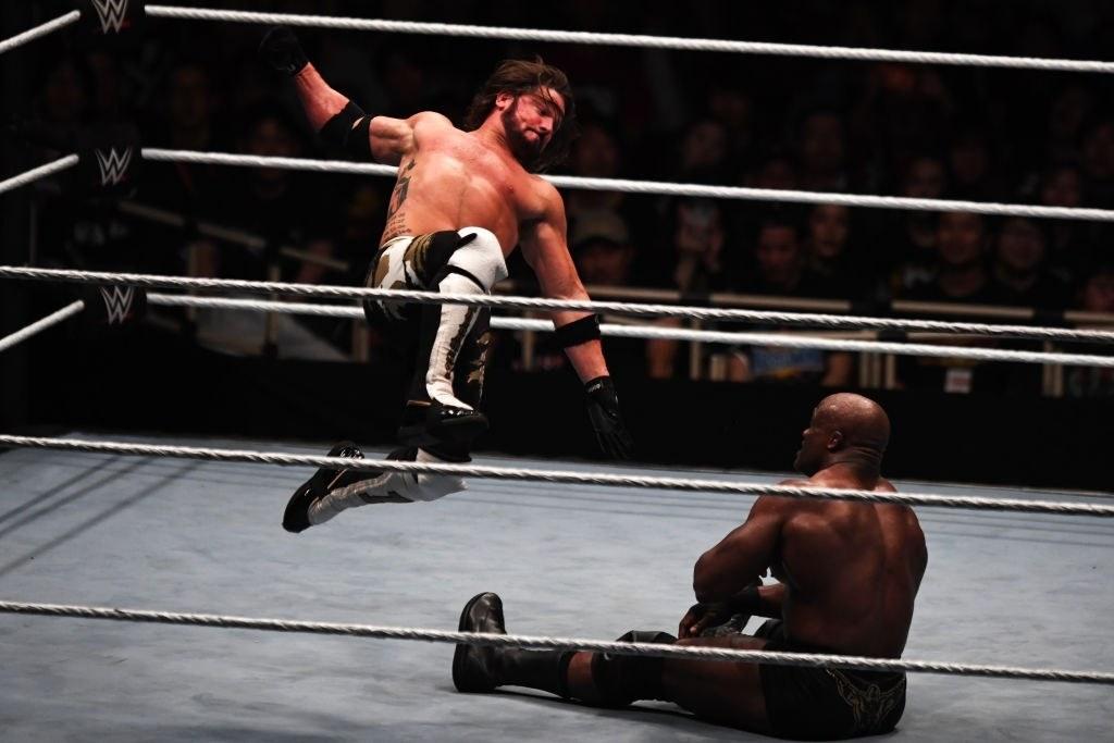 AJ Styles wwe wrestler from TNA