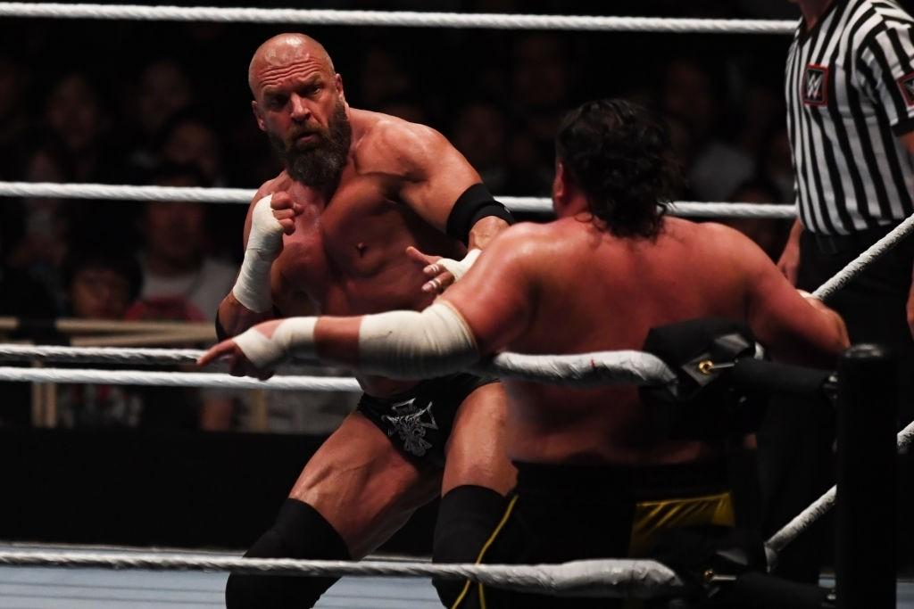 Triple H wrestler of attitude era