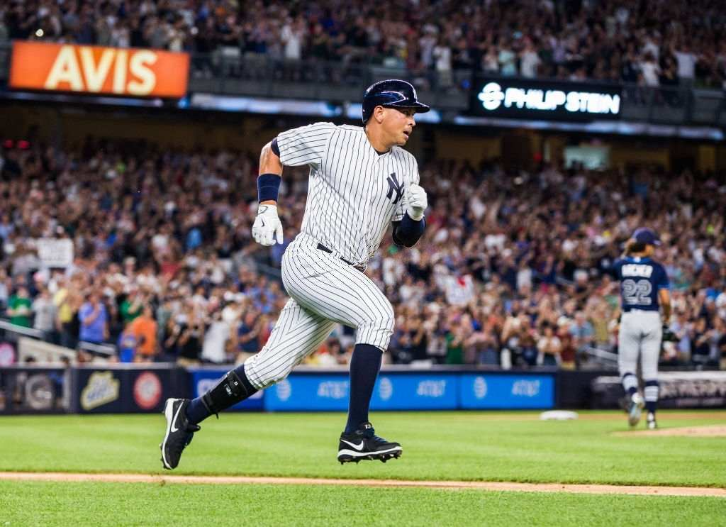Alex Rodriguez record earning player