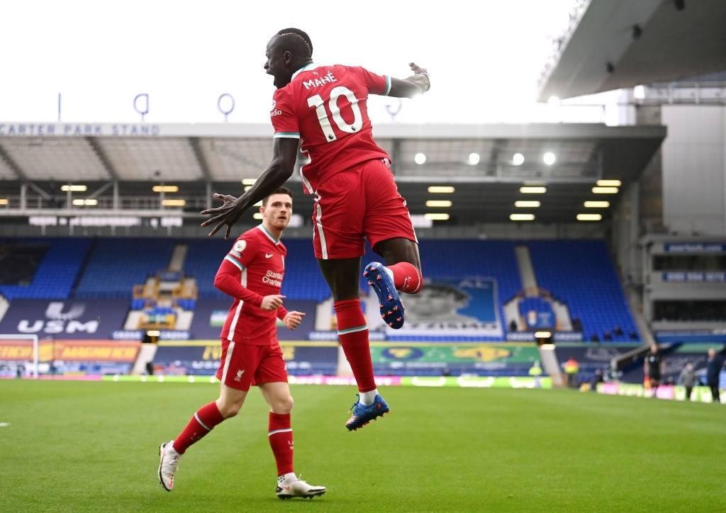 Sadio Mane Liverpool forward