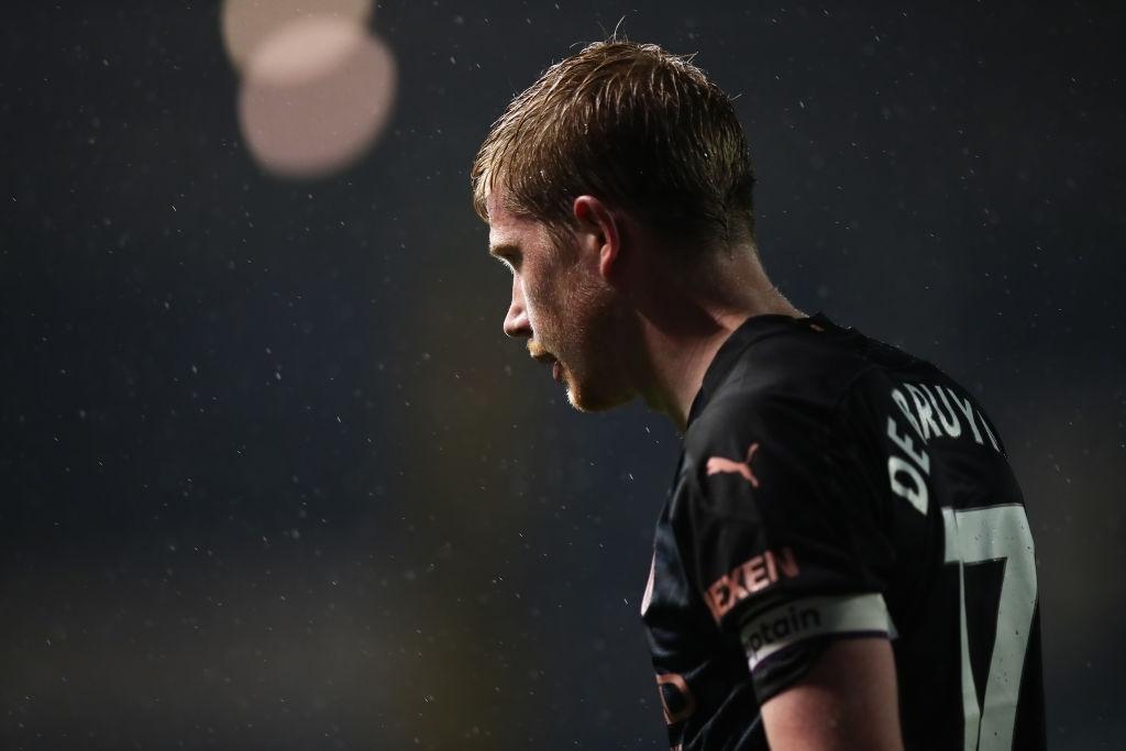 Kevin de Bruyne Man City Midfielder