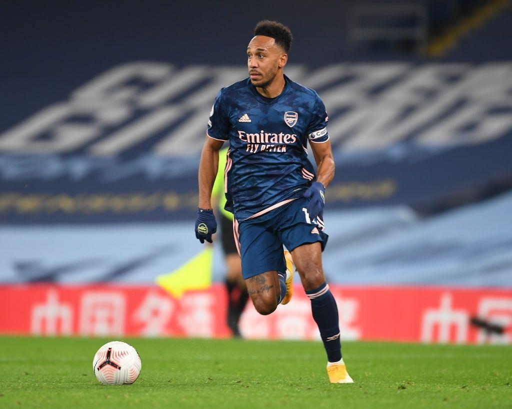 Pierre-Emerick Aubameyang Arsenal Captain