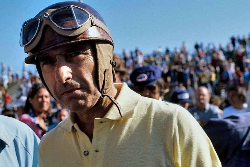 Juan Manuel Fangio Argentina f1 driver